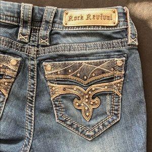 Rock Revival Jeans - Rock Revival blue jeans
